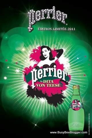 Dita Von Teese For Perrier Winter 2011!!! [Pics & VIDEO]