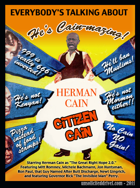 Herman Cain is Surging in the Polls!