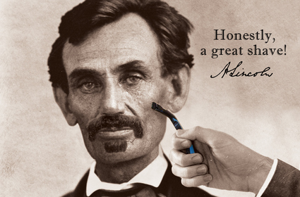 HONESTLY, ABE... A GREAT SHAVE!