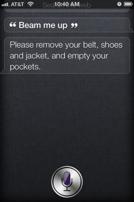 Siri a Trekkie?