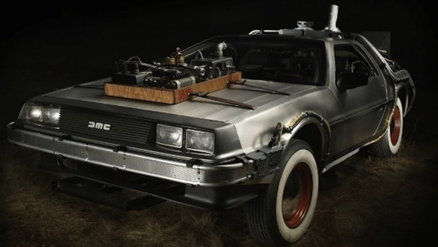 Back To The Future's DeLorean Auctioning For $600,000