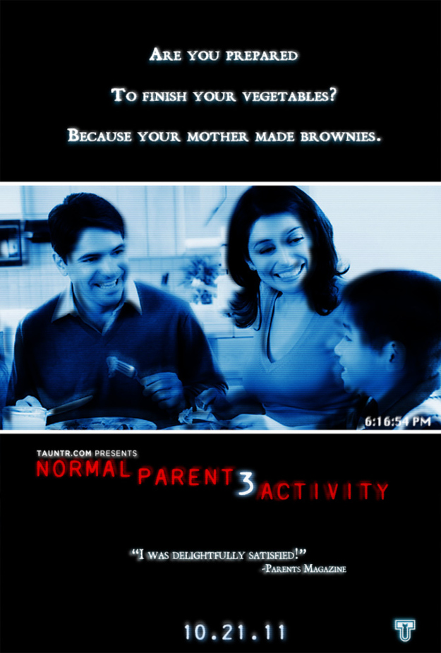 Normal Parenting Activity 3 Movie Poster