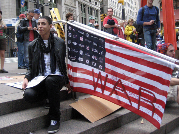 Our Photo Journal from Occupy Wall St. 10/1/11