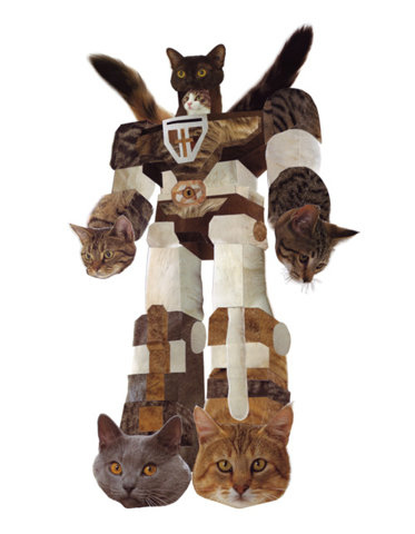 Voltron Made Of Cats