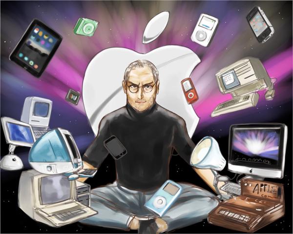 Steve Jobs - Amazing Tribute Artwork