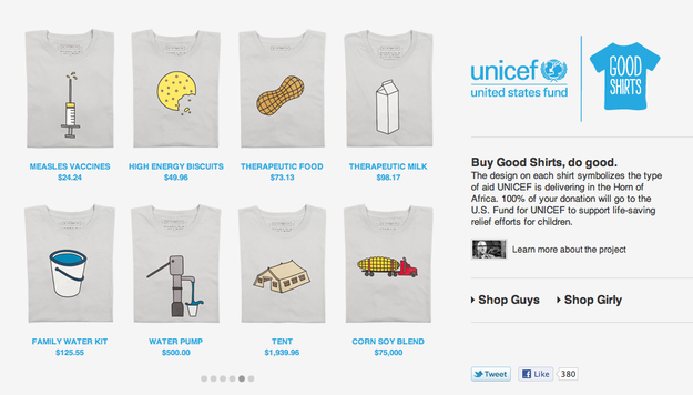 Good Shirts For A Really Good Cause