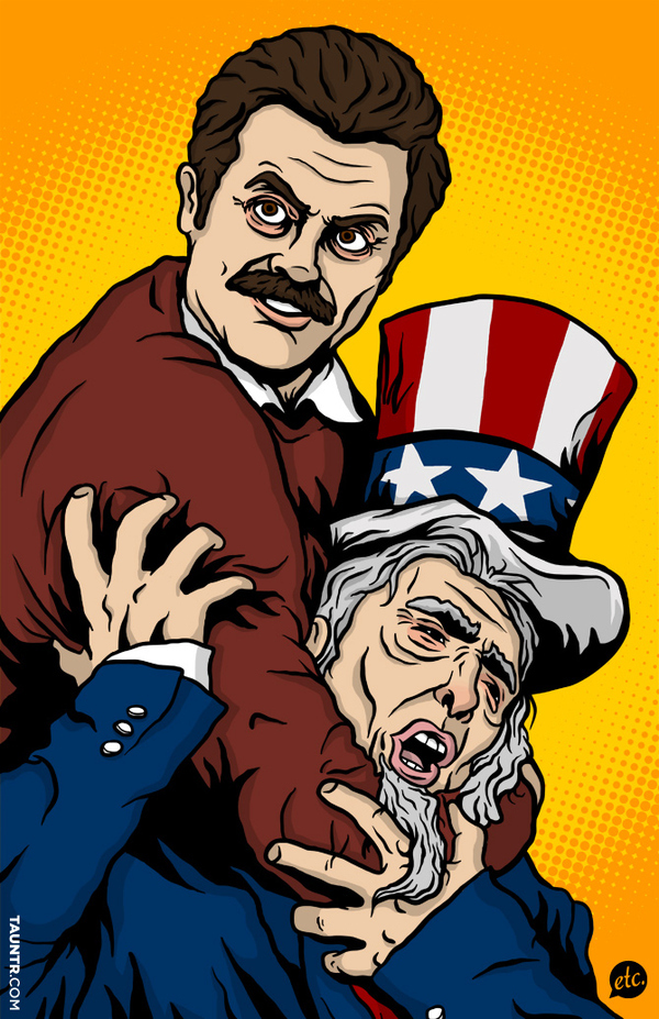Ron Swanson Vs. Uncle Sam