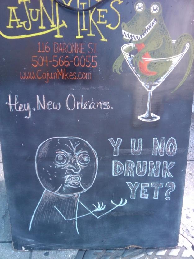 Y U No Drunk Yet?