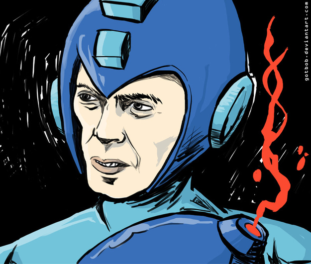 Steve Buscemi Is Mega Man