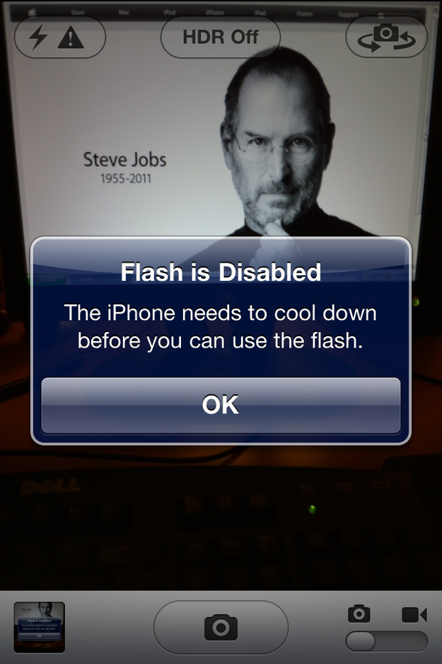 Proof My IPhone Can't Handle Steve Jobs's Passing