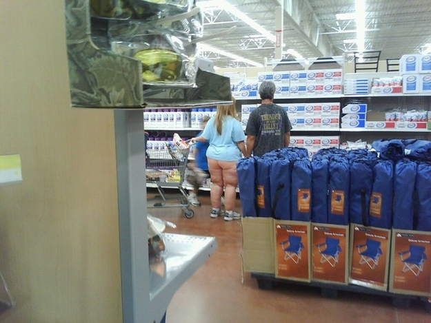 Family Day Out at Walmart (Slightly NSFW)