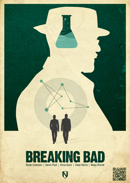 "Minimalist ""Breaking Bad"" Poster"
