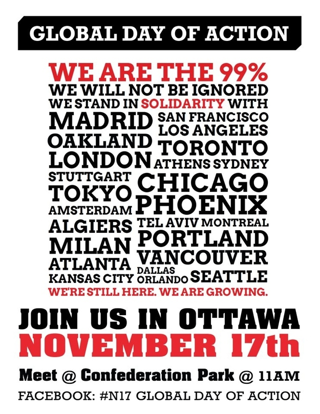 #N17 Global Day of Action With Occupy Ottawa
