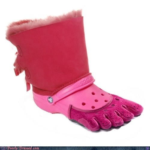 The Anti-Christ of Shoes? The Ugg-Croc-Toe Shoe