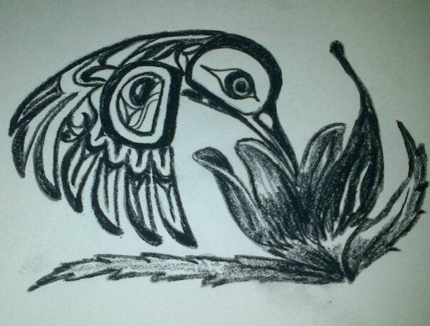 Charcoal Hummingbird