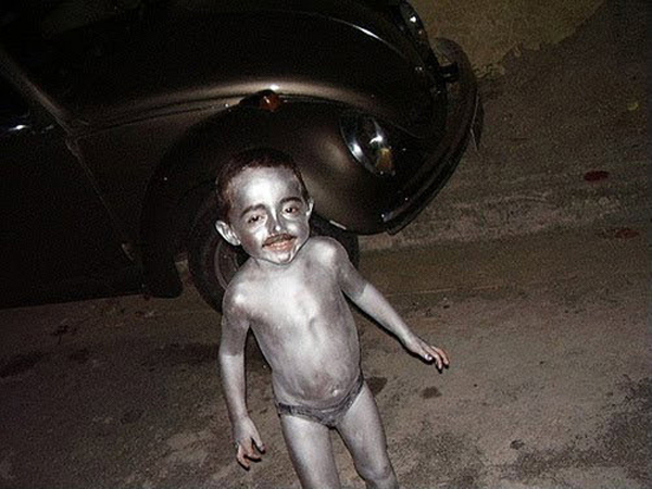 Silver Baby's Mustache Will Amaze You