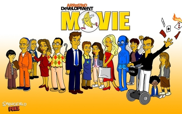 Bluth Family, Simpsonized