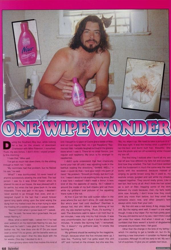 One Wipe Wonder