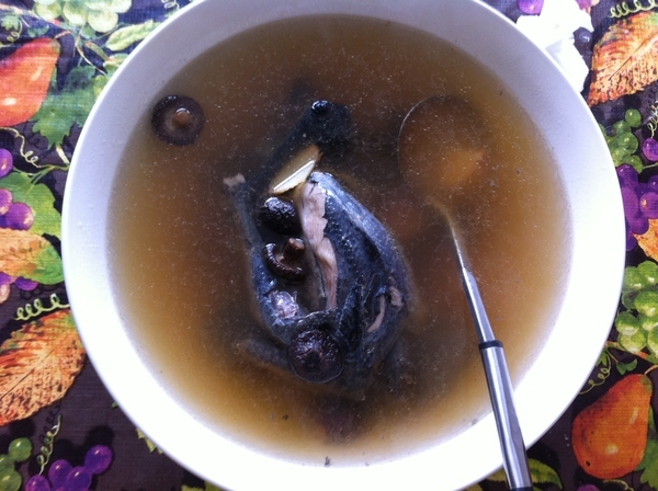 Black Chicken Soup ^_^ Yummy and Healthy