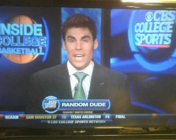 CBS College Sports Has Low Standards