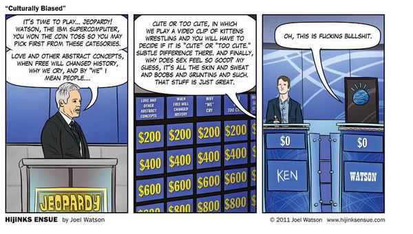 Jeopardy Vs. Watson