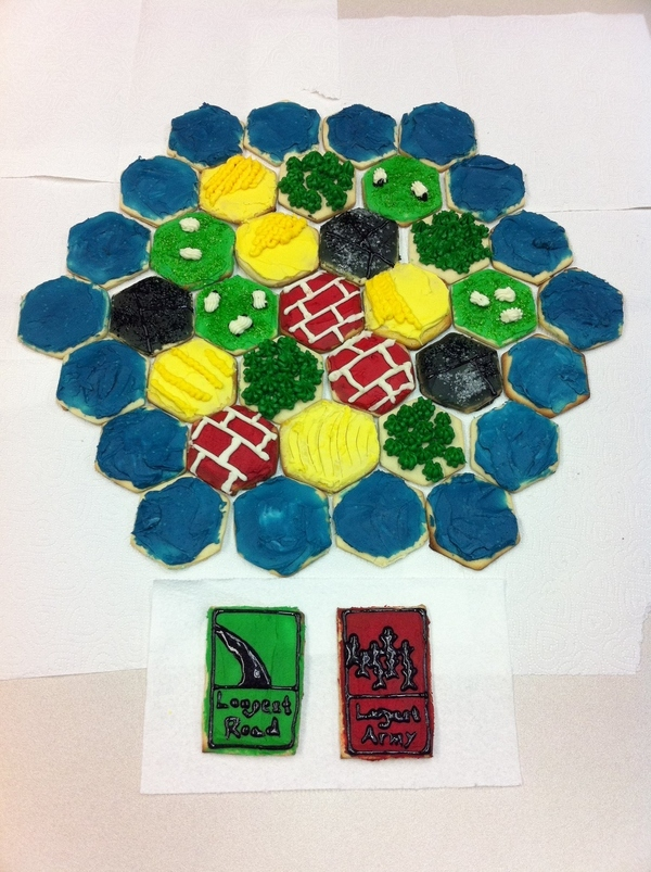 Settlers Of Catan Cookies