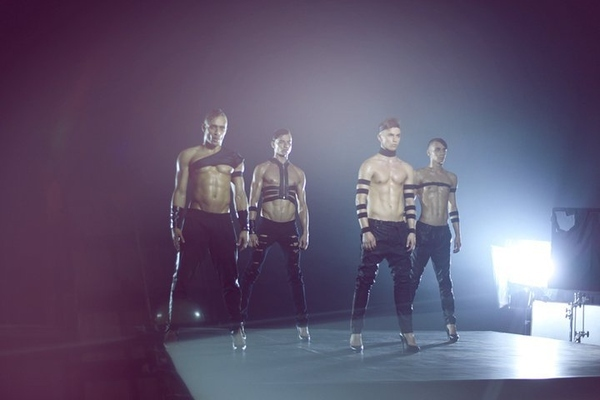 Kazaky: A Ukrainian Boy Band Who Dance Shirtless & In Heels