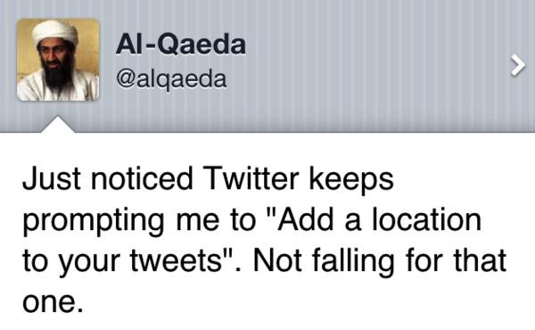 A Tweet from Al-Qaeda
