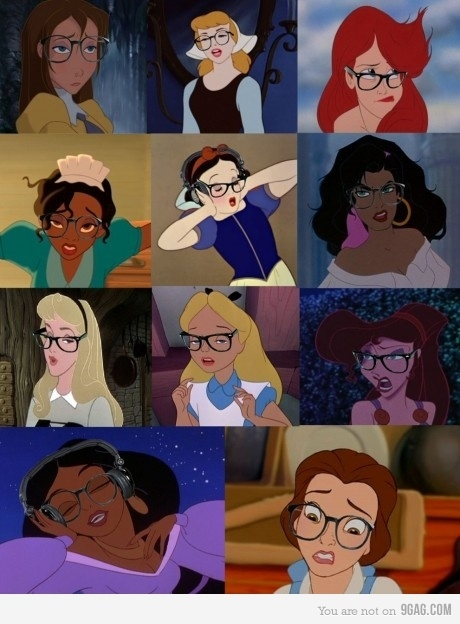 Disney Girls Go Geek