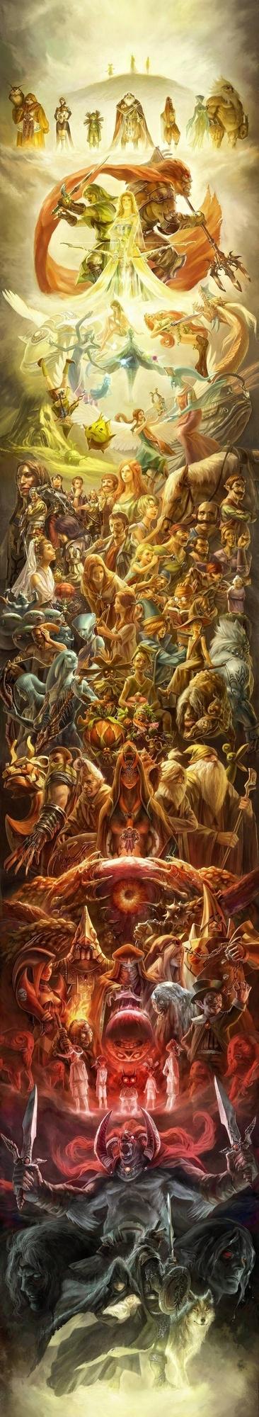 25th Anniversary Zelda Mural