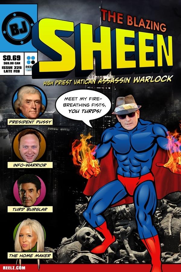 The Blazing Sheen: High Priest Vatican Assassin Warlock