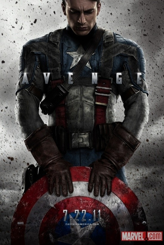 Official Captain America: The First Avenger Movie Poster