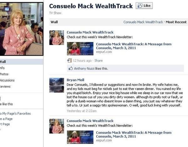 Consuelo Mack Ruined This Man's Life