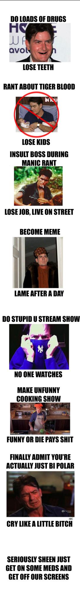 "Charlie Sheen ""LOSING!"""