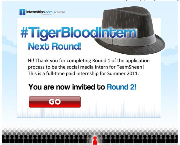 Round 2: #TigerBloodIntern