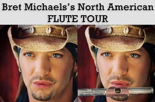 Bret Michaels Announce New Flute Tour