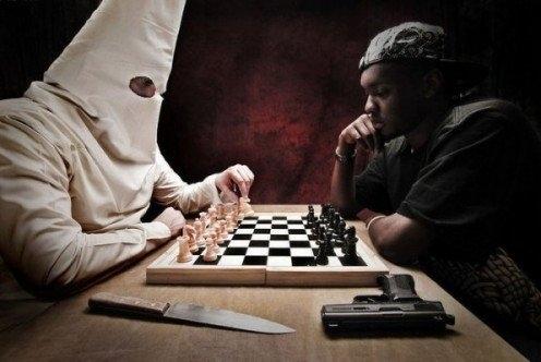 Welcome to 2011 – KKK Vs Black Man. Black Man 1, KKK 0  - So Ignorant