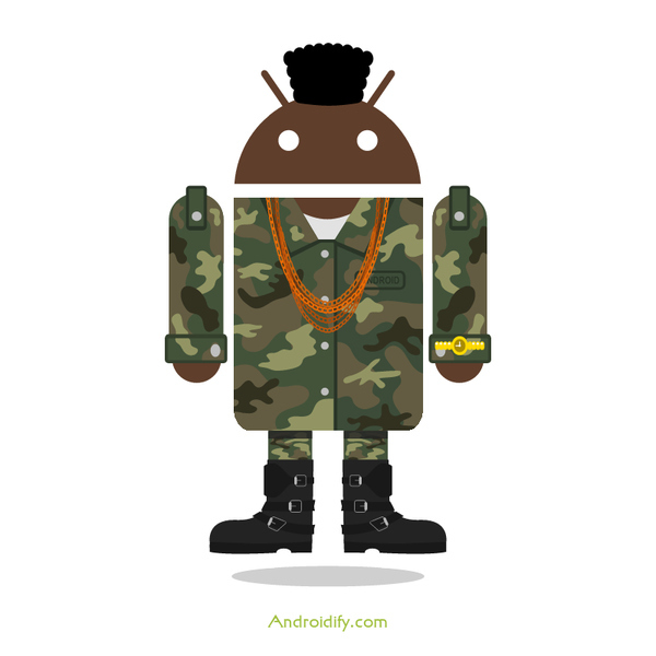 Mr. T Android Ready for War | Lol Android