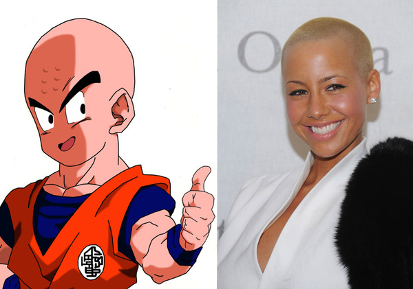 Always knew Amber Rose looked familiar...