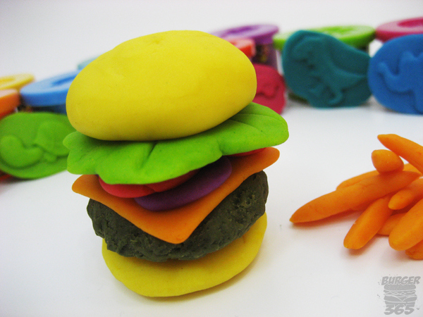 Play-Doh Cheeseburger