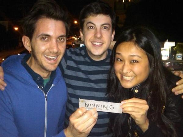Sushi With MyLady and McLovin..WINNING!