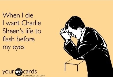 Charlie Sheen's Life Flashes