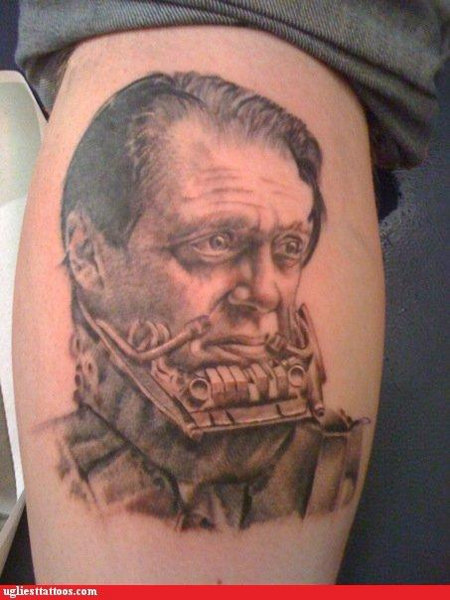 Buscemi Vader Tattoo