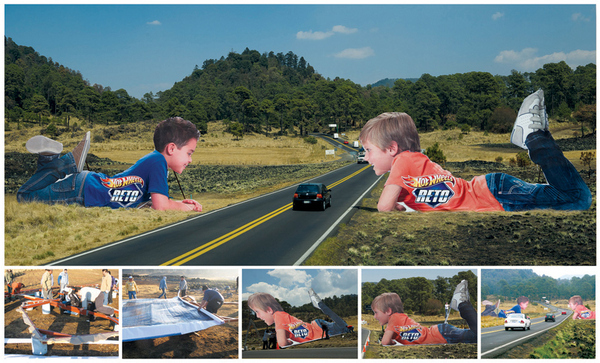 Creative Hot Wheels Billboards