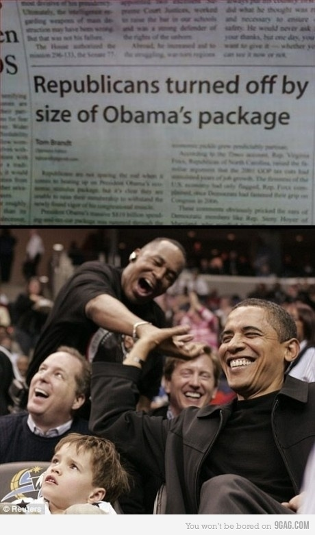 Obama's Package Turn Off Republicans