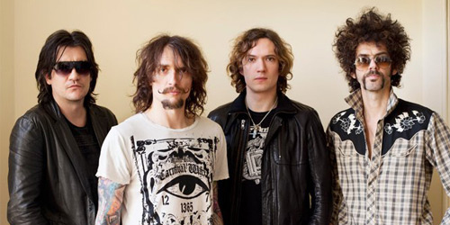 Justin Hawkins Awesome Moustache