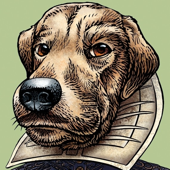 Authors As Dogs