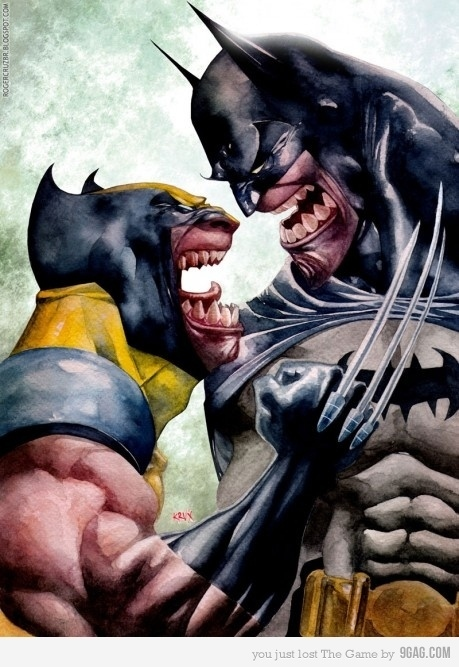 The Day Wolverine Met Batman