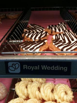 Royal Wedding Donuts