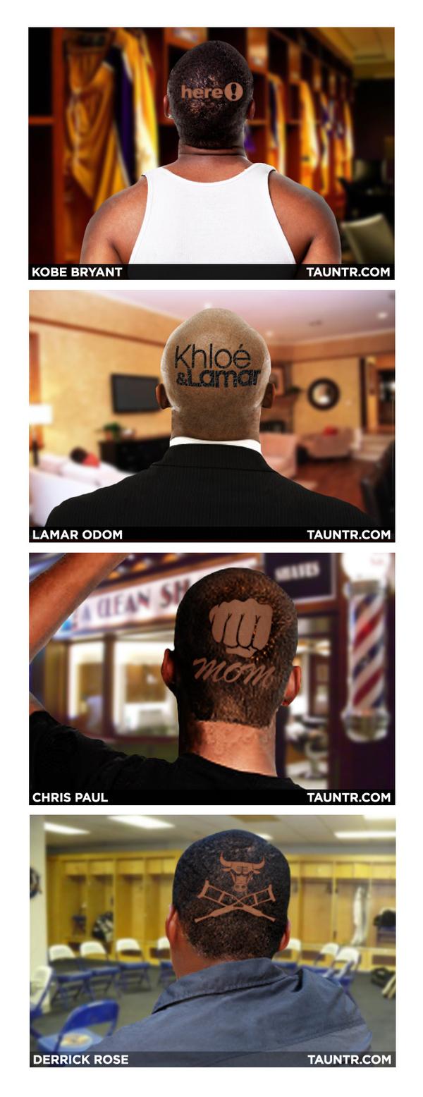 NBA Playoff Haircuts